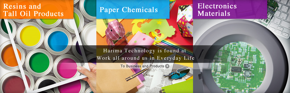 Harima Technology is found at Work all around us in Everyday Life